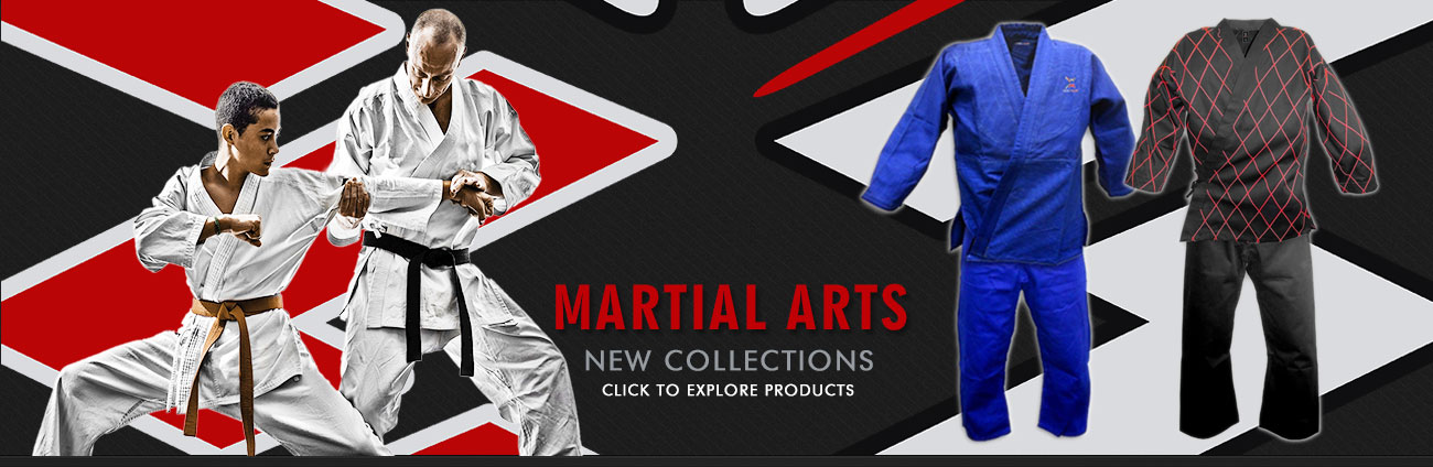 Manufacturers and Suppliers of CUSTOM MADE Martial Arts Uniforms in Sialkot Pakistan